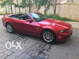 Mustang - V6 Candy Red Convertible