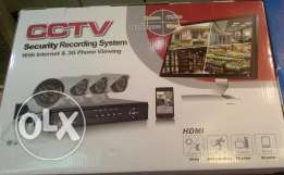 CCTV 4 HD cameras with DVR