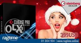 Korg with Steinberg. Get your Cubase Pro 9 as special offer 399$ only
