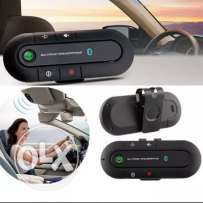 Wireless Bluetooth Handsfree Speakerphone Car Kit with Car Charger