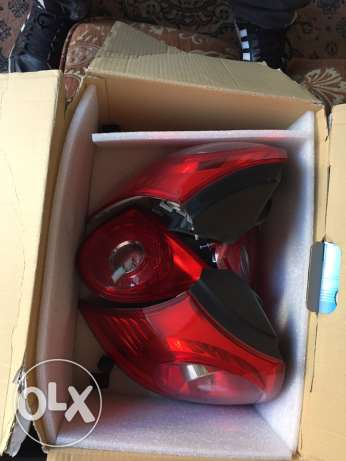 golf 5 rear lights