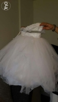 Flower girl wedding dress fille d'honneur فستان زفاف للأولاد