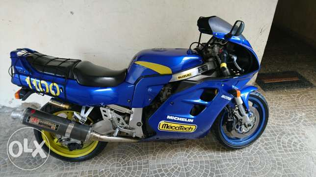 GSXR 1100 Super Clean low Mileage For Sale