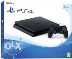 playstation 4 500 GB super slim europian