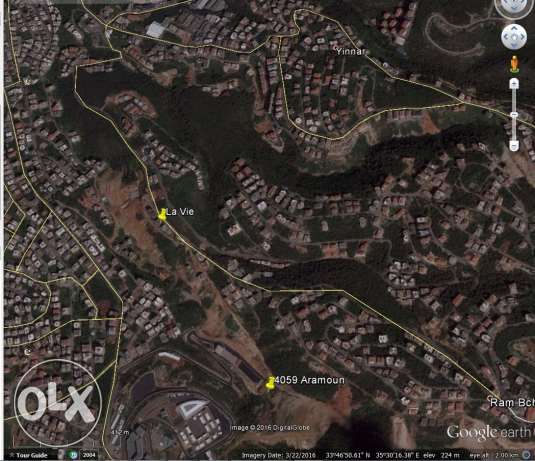 Land for sale in bshamoun near Louise vegman school