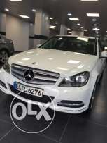 Mercedes benz c180 avantgarde model 2012 white
