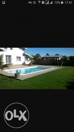 Villa 550m2 with garden and piscine