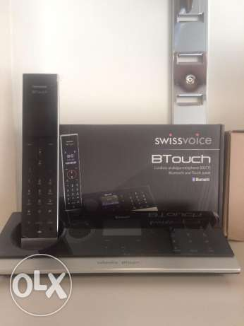 Swissvoice BTouch Cordless DECT Phone - Answering Machine - GSM Link