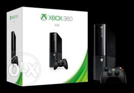 xBox 360 4GB (Second Hand) + 15 Games