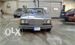 Mercedes Tripoli 280ce collection car american system ful option ac