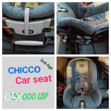 Chicco - Car Seat - Excellent Edition - 67 usd