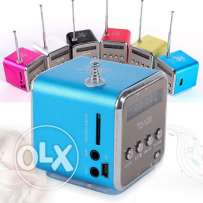 FM radio and MP3 player (available in black and silvery colors)
