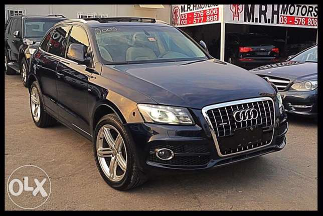 Q5 S Line 2009 Blue Top of the Line!