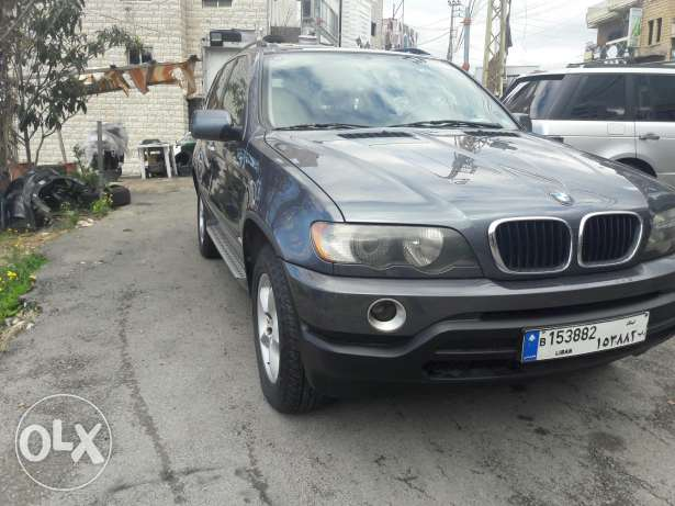 Bmw x5 model 2002 masdar shirki kheri2 lnadafeh
