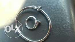 Cartier bacelet and ring