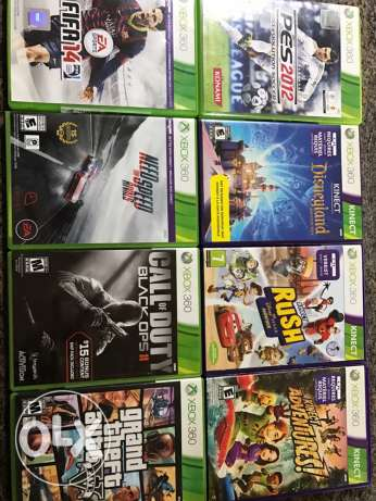 xbox 360 4sale whith original games بيت الشعار -  3
