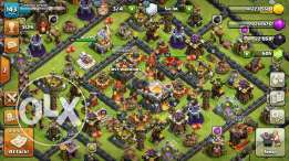 Clash of clans TH11 almost full