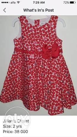 Jillian's Closet dress, size: 2 years
