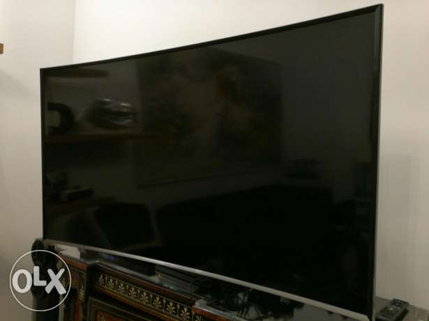 Samsung tv curved