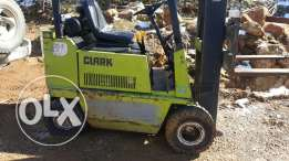 Forklift mazout
