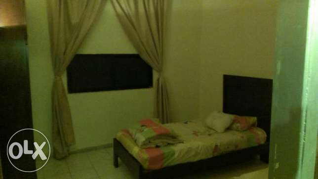 Ainlmrysi , One bedroom, one Salon , kitchin , bathroom , Balkon,Wifi ميناء الحصن -  5