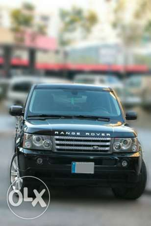 Range Rover 2008 supercharged (black/black) super clean