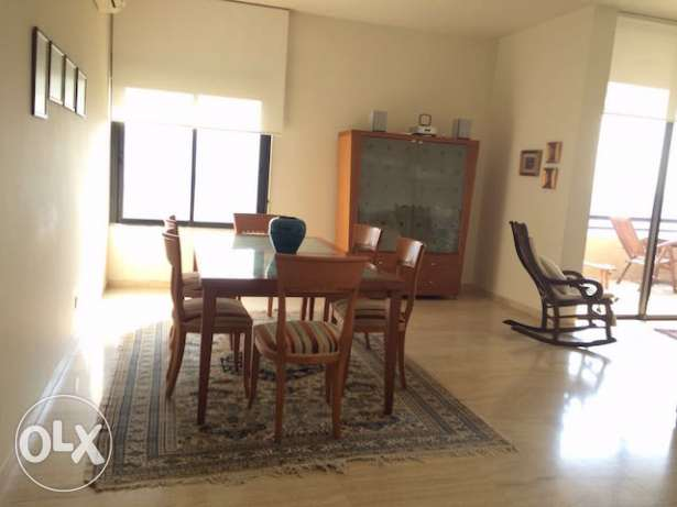 BAABDA Furnished apartment 3 bedrooms for rent with open view أشرفية -  2