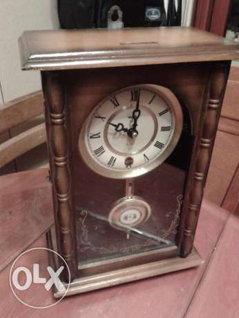 table vintage widable clock old mantel 20*30cm