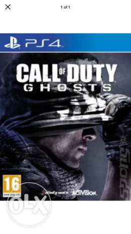 ps4 call of duty ghosts
