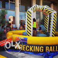 Wrecking Ball Inflatable Gonflable Game ألعاب نفخ