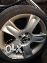 4 rims for mini cooper S used