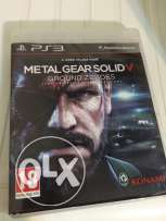 PS3 cd metal gear solid v