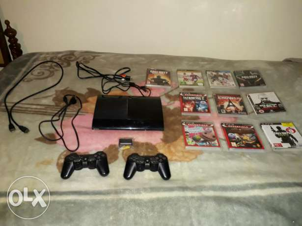 Ps3 original super slim special edition full options