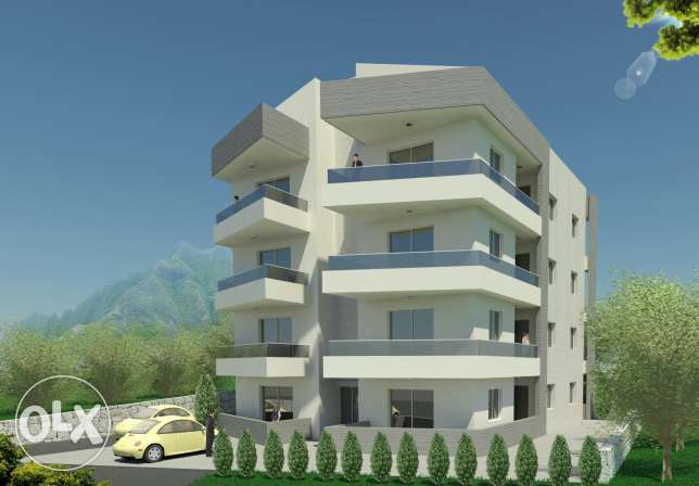 Two bedrooms apartments for sale at chikhan jbeil