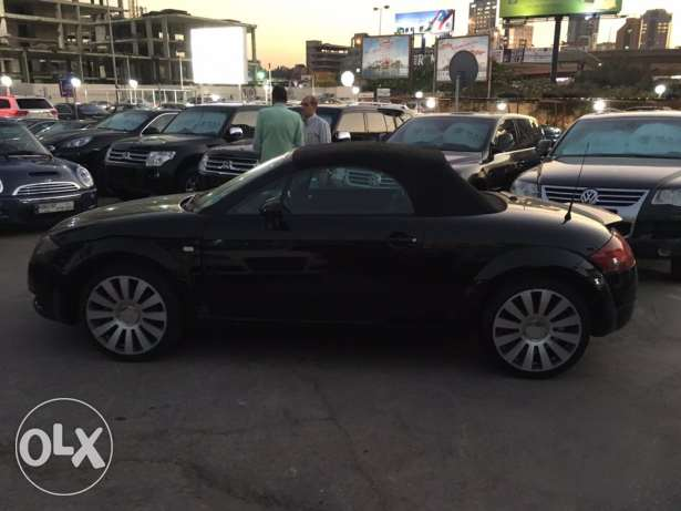 Audi TT 2001 Black Convertible in Good Condition! بوشرية -  4