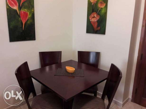 Dining room of four chairs