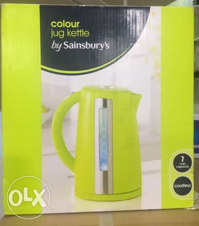 cordless kettle stainless brand new