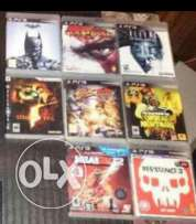 Sony PS3 games 8 for $ 80
