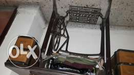 and old sewing machine