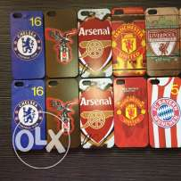 20 Iphone 5(s) cover.Football team designs