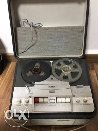 reel to reel player- 2 pcs