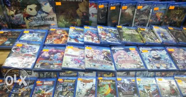 Wanted psvita games for low prices,
