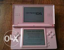 nintendo ds pink good condition