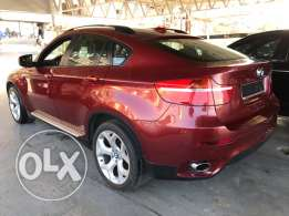 BMW X6 2010 full options 47,000 mil