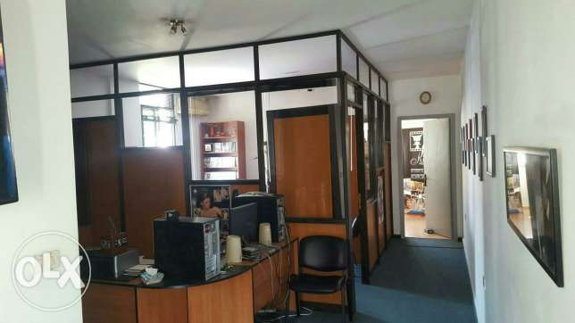Furnished office for rent in bawchrieh بوشرية -  1