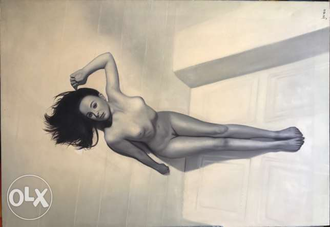 Sensual Nude Oil Painting For Sale.