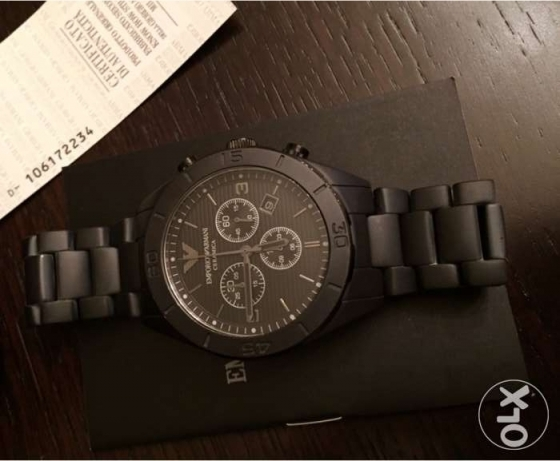 Hot black matte Emporio Ceramica (Genuine with the certificates)