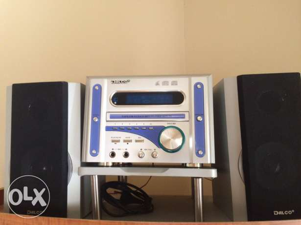 Stereo dalco : tape/cd player/vcd/mp3 player/radiostereo
