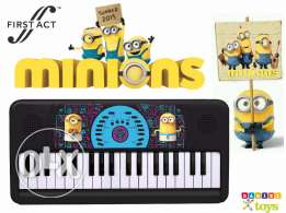 First Act Minions Keyboard