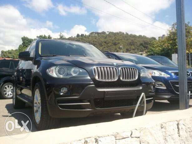 Bmw x5, 2009. 8 cylinders. 4.8 liters. Low mileage. From local dealer